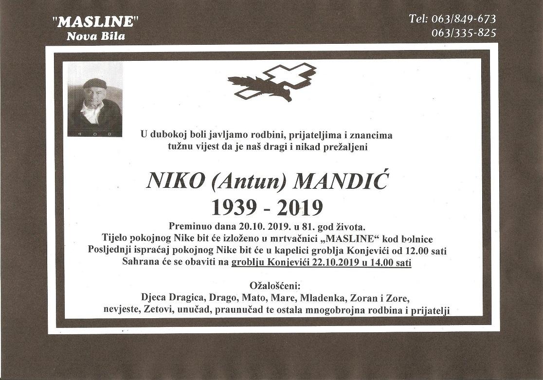 Niko Mandić