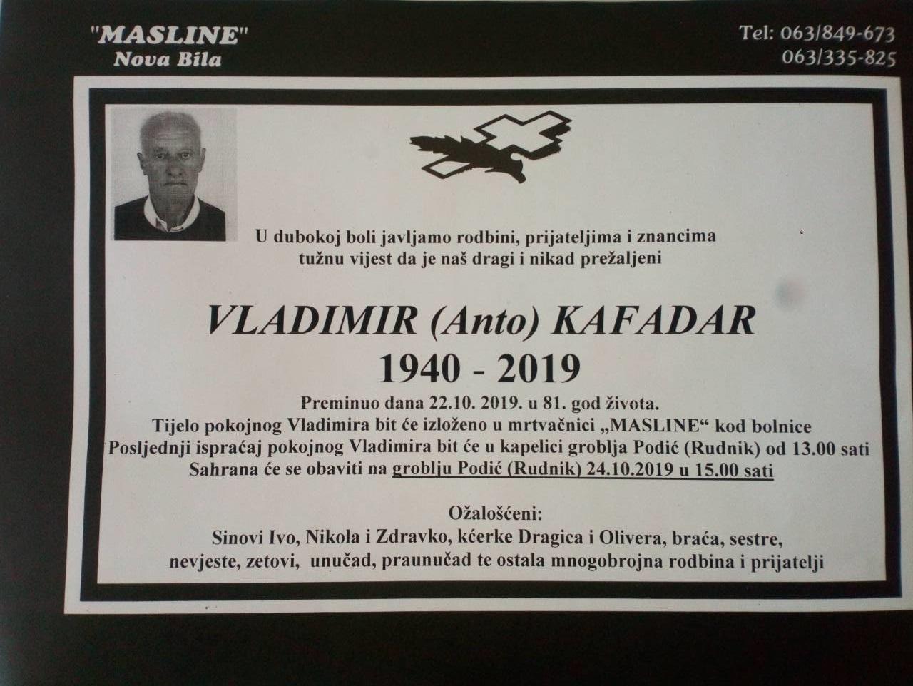 Pročitajte više o članku Vladimir Kafadar