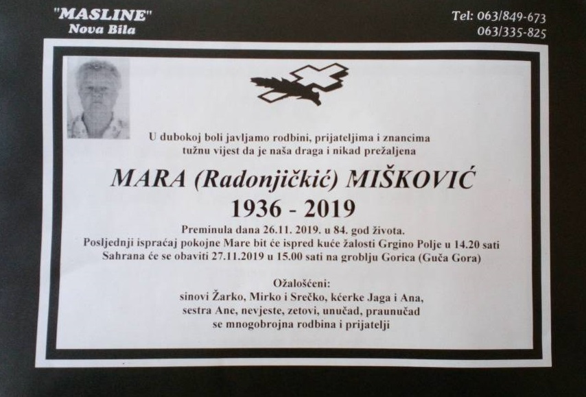Mara (Radonjičkić) Mišković