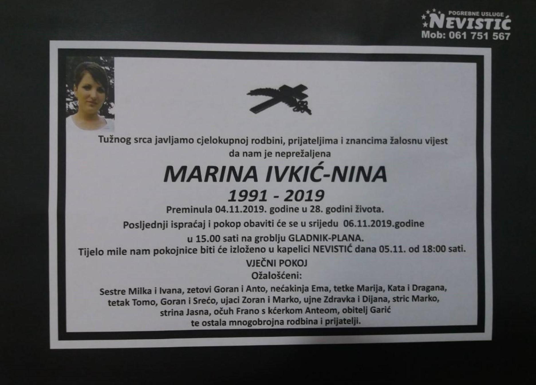 Marina Ivkić – Nina