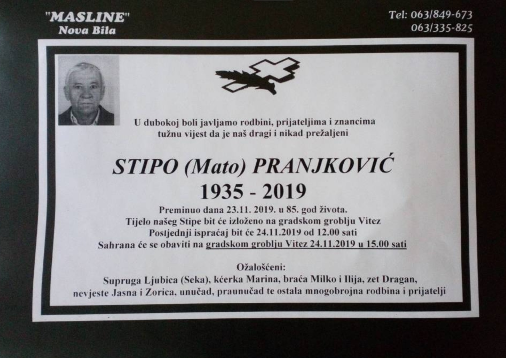 Stipo (Mato) Pranjković