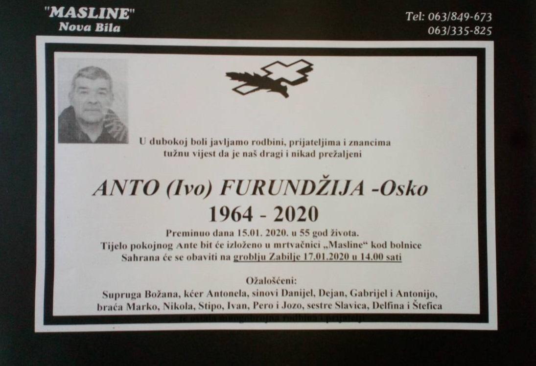 Anto (Ivo) Furundžija – Osko