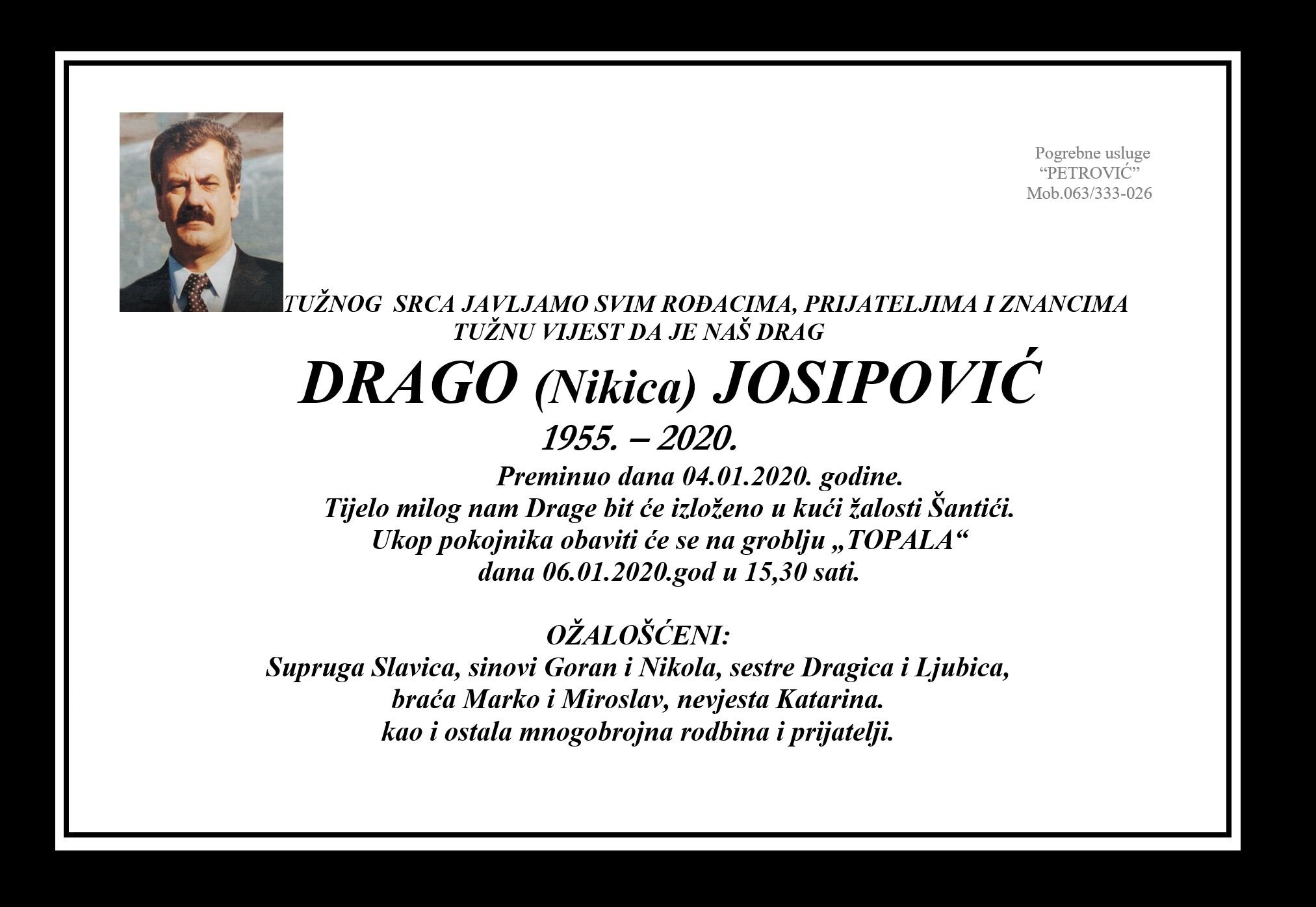 Drago (Nikica) Josipović