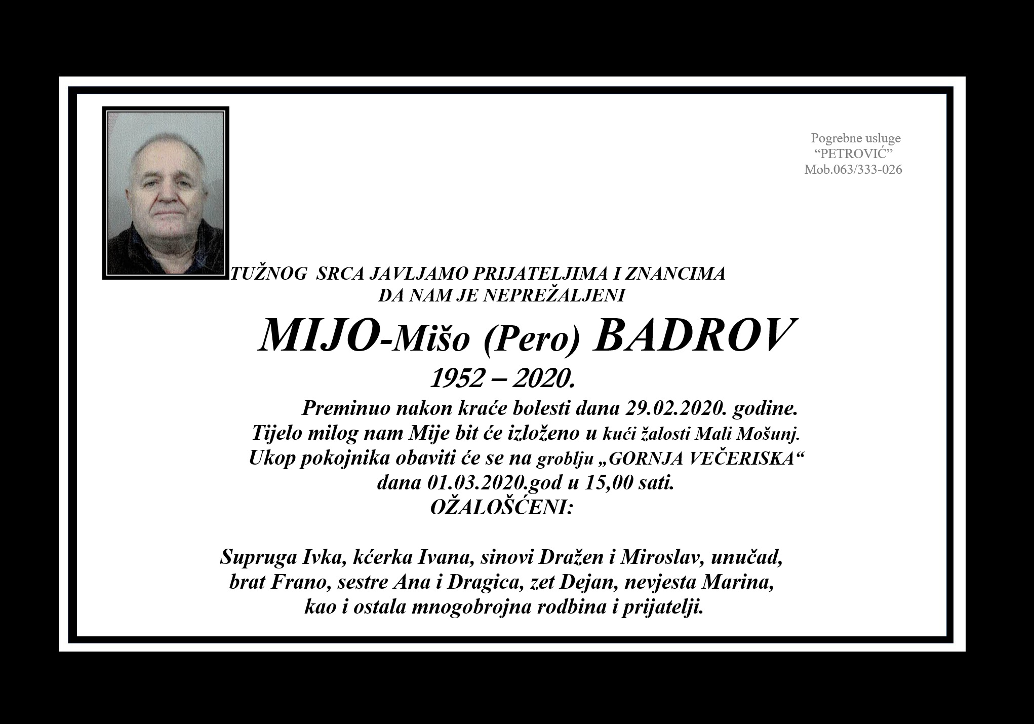 Mijo-Mišo (Pero) Badrov