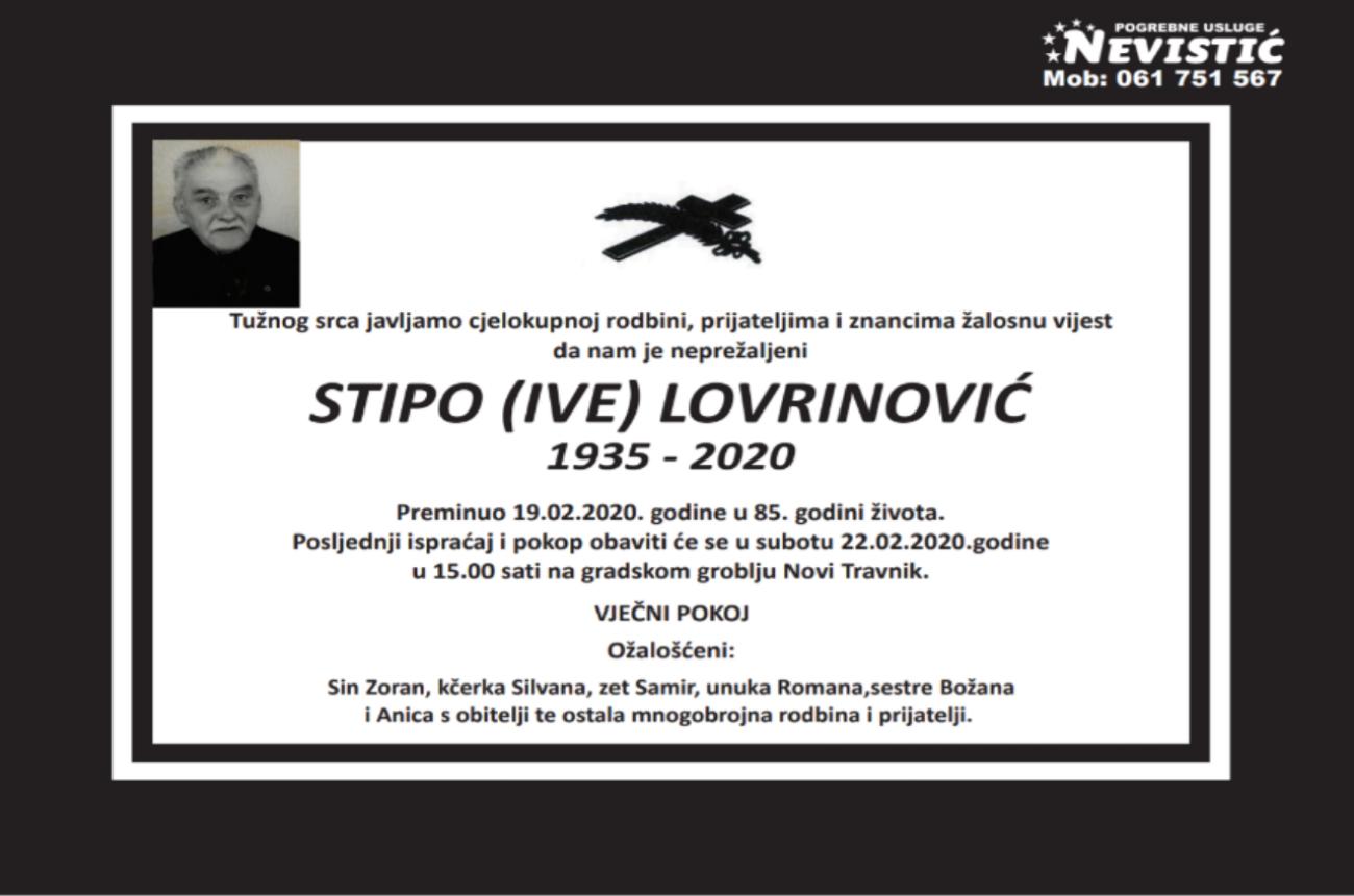 Stipo (Ive) Lovrinović