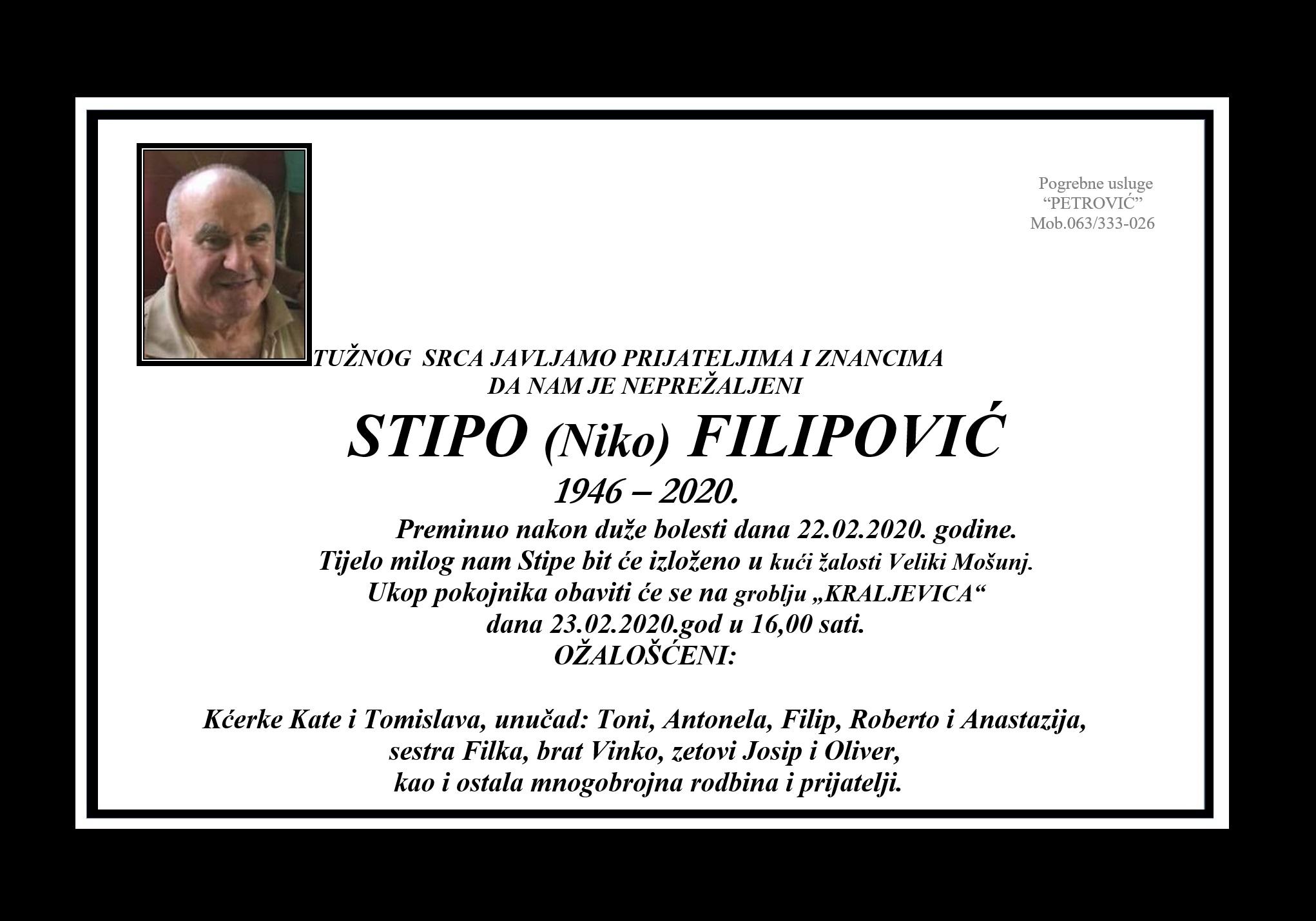 Stipo (Niko) Filipović