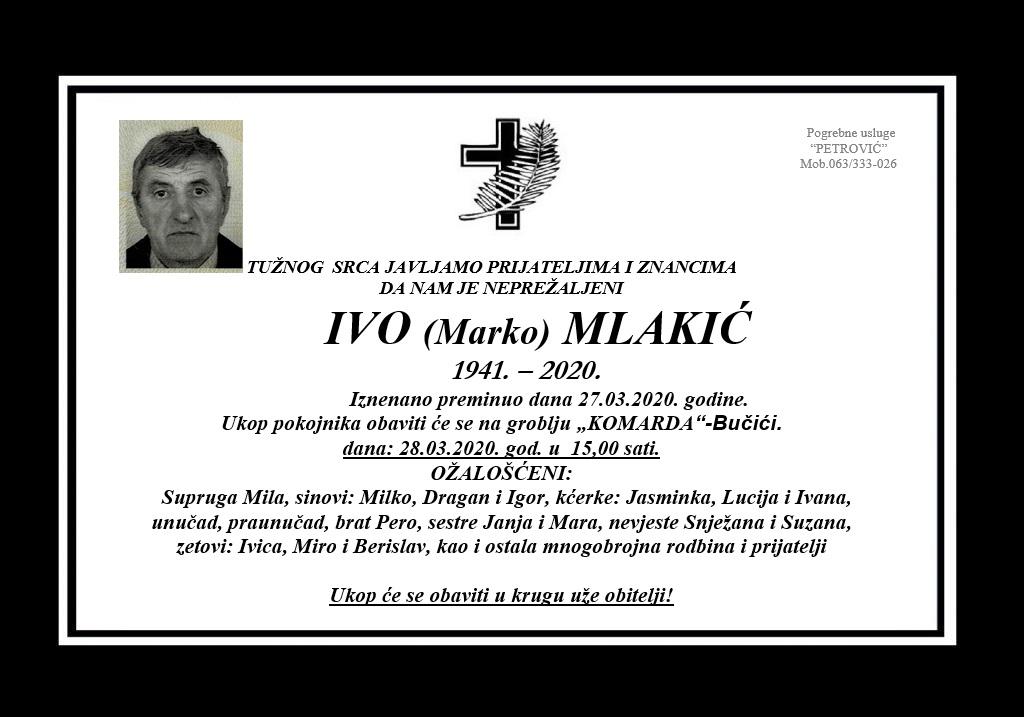 Ivo (Marko) Mlakić