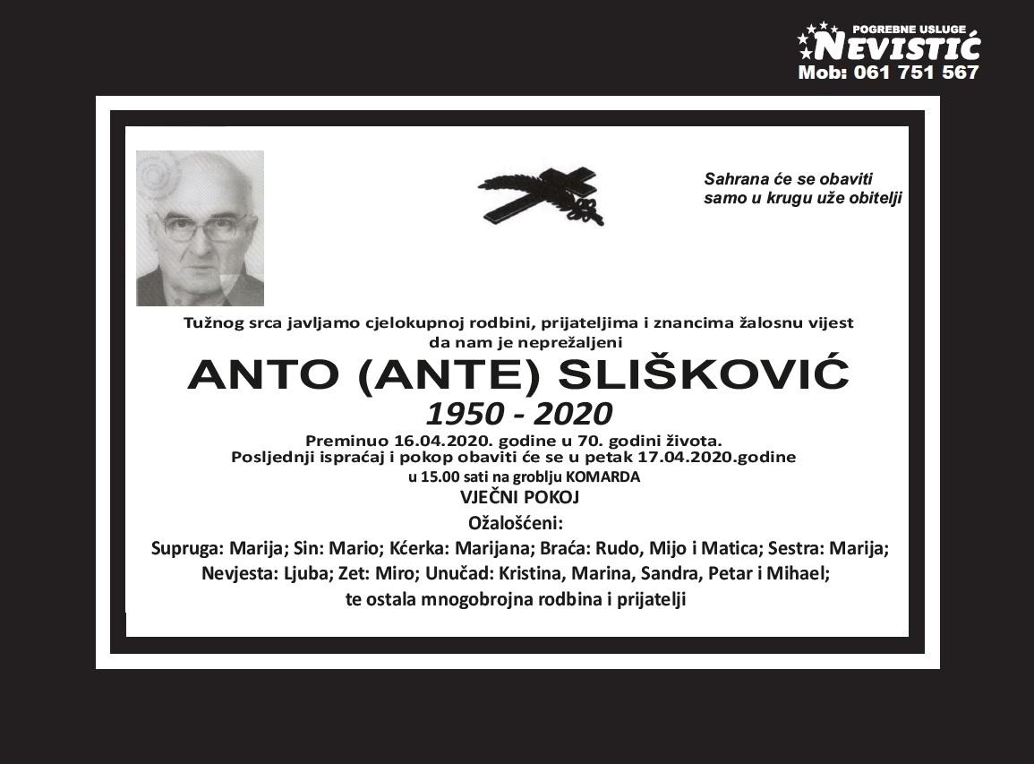 Anto (Ante) Slišković