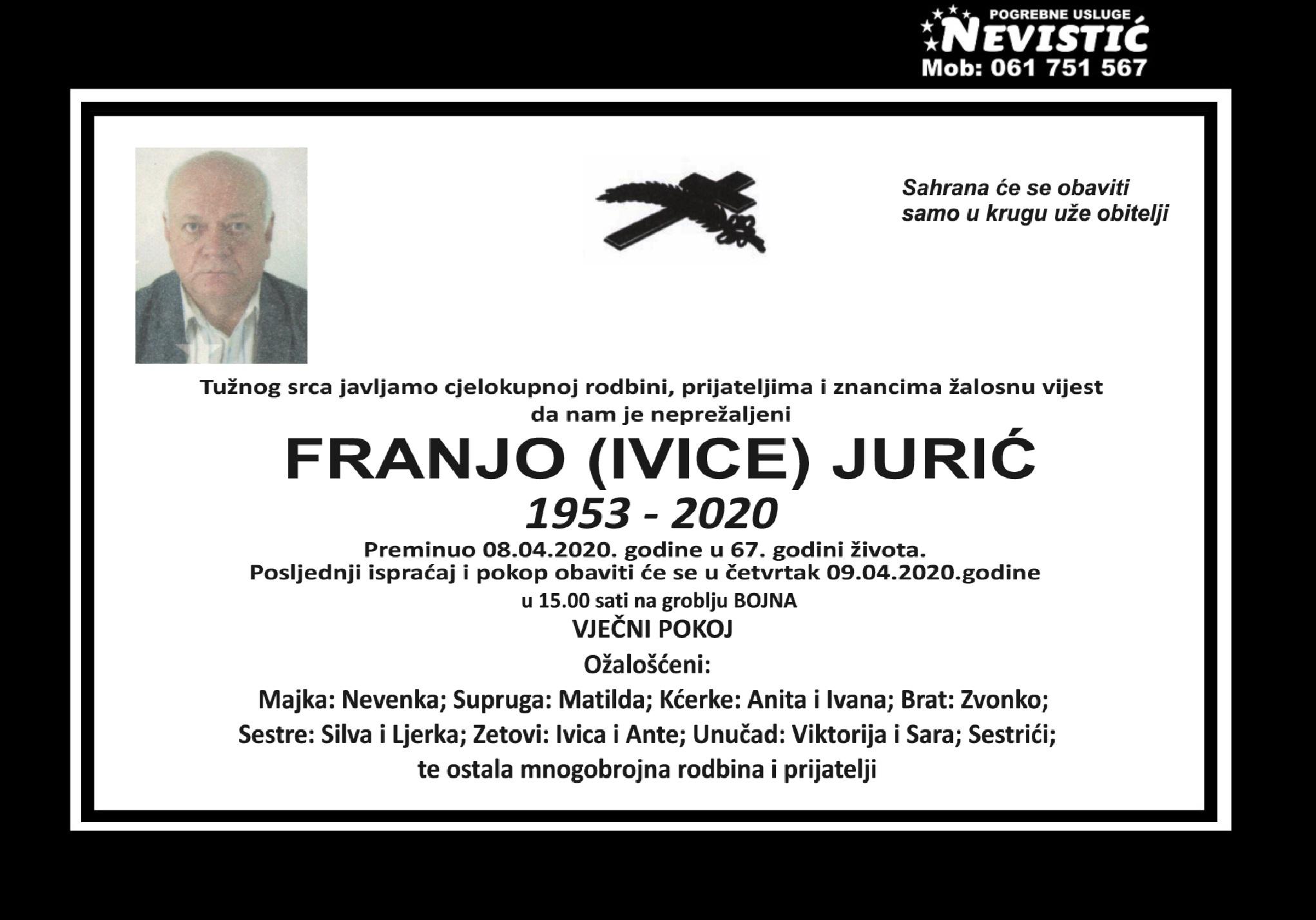 Franjo (Ivice) Jurić