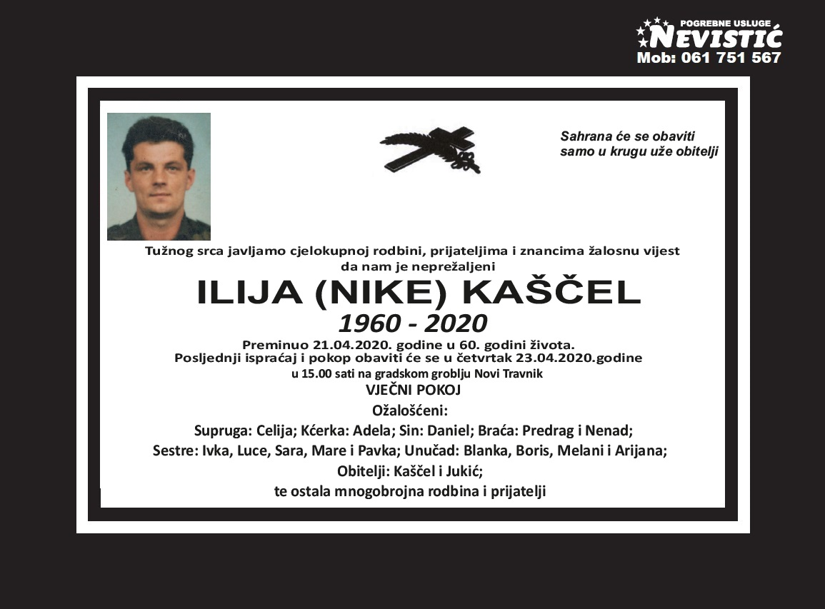 Ilija (Nike) Kaščel