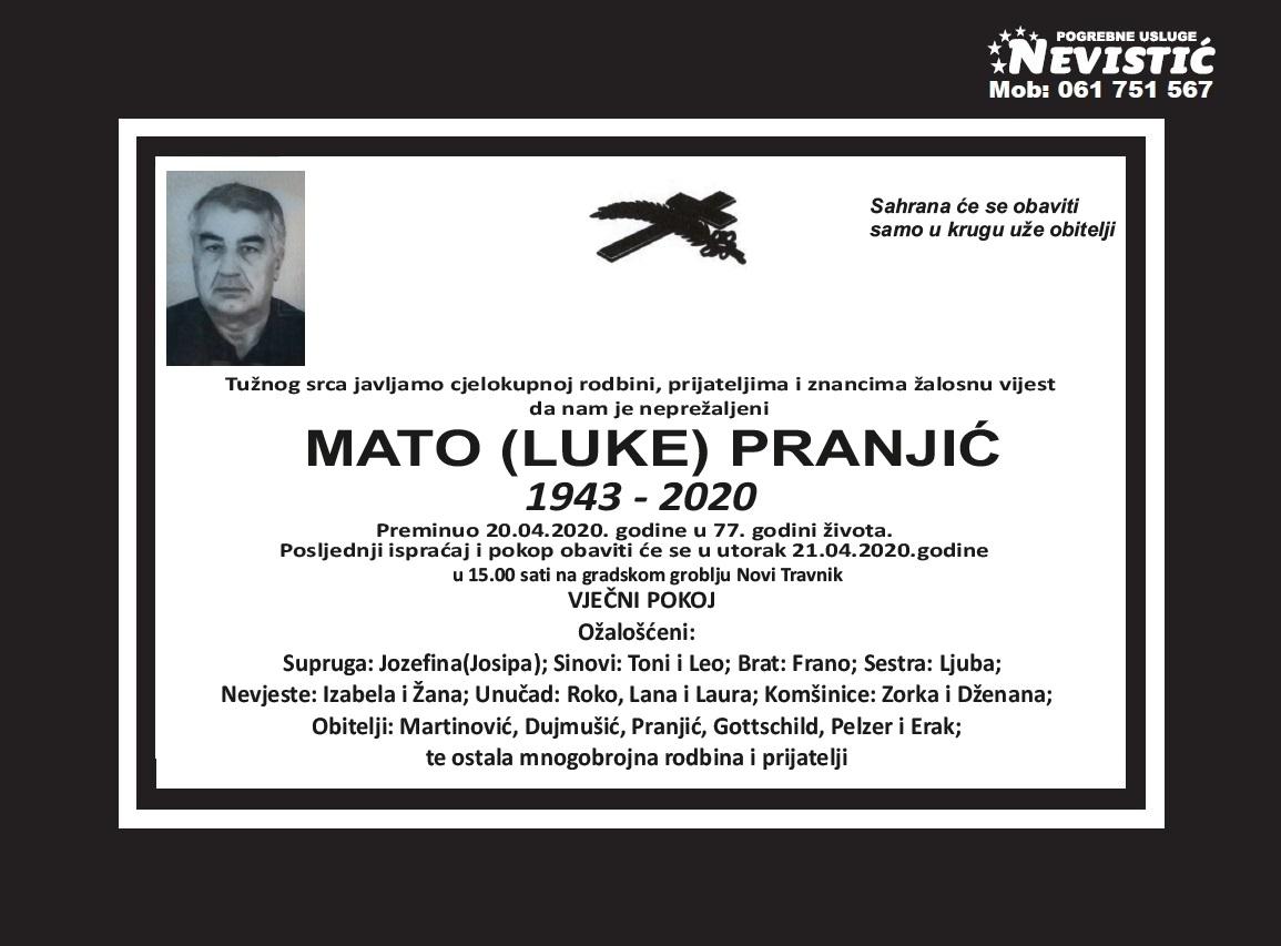 Mato (Luke) Pranjić