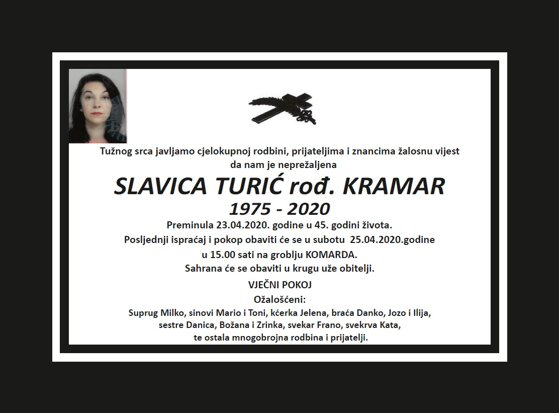 Slavica Turić, rođ. Kramar