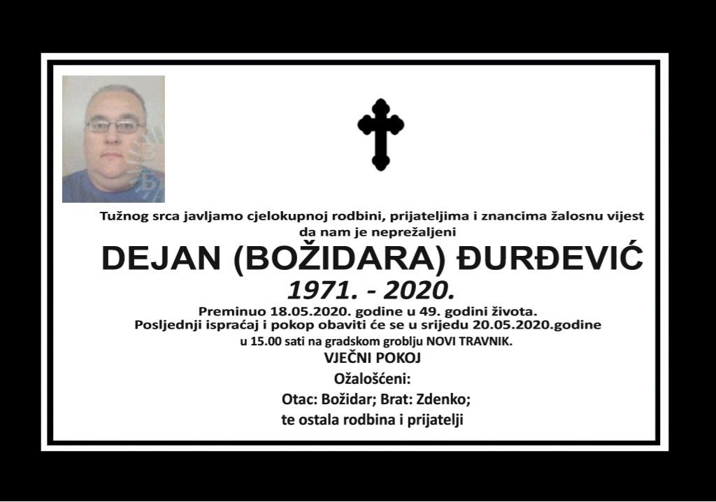 Dejan (Božidara) Đurđević