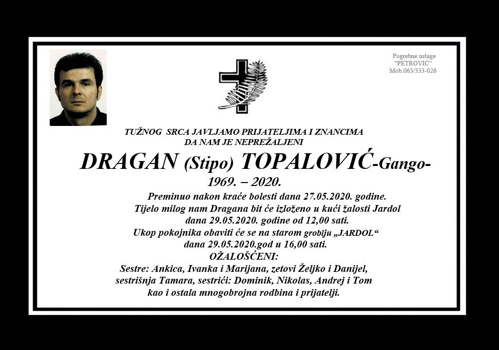 Dragan (Stipo) Topalović – Gango