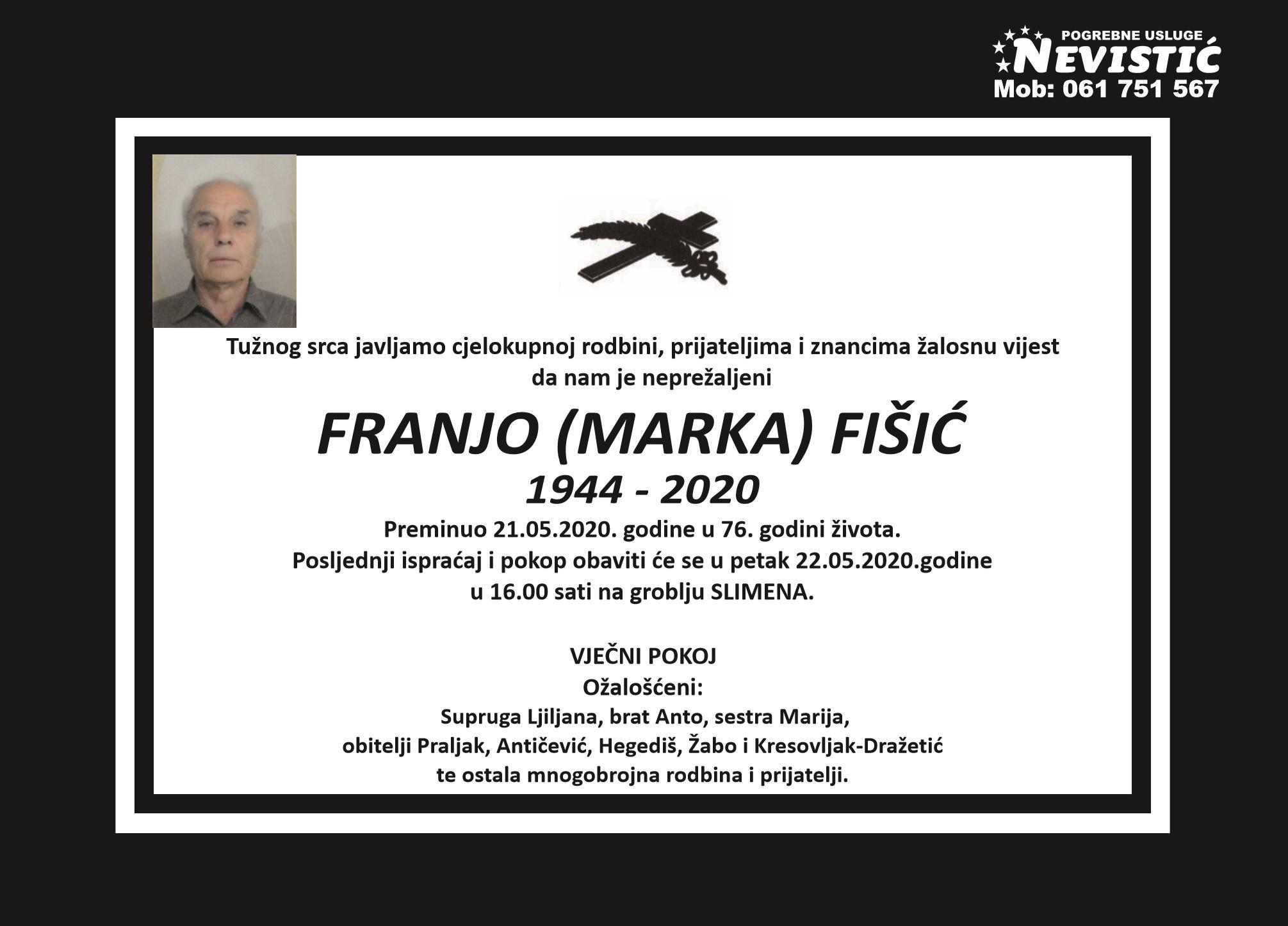 Franjo (Marka) Fišić
