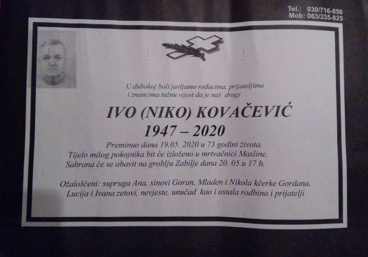 Ivo (Niko) Kovačević