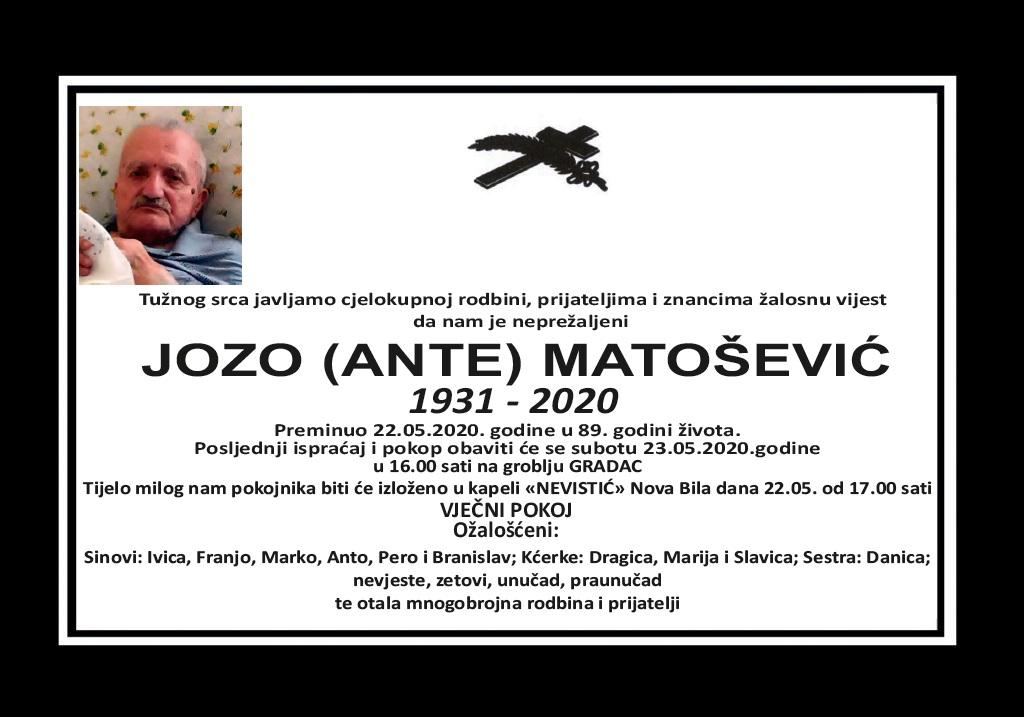 Jozo (Ante) Matošević