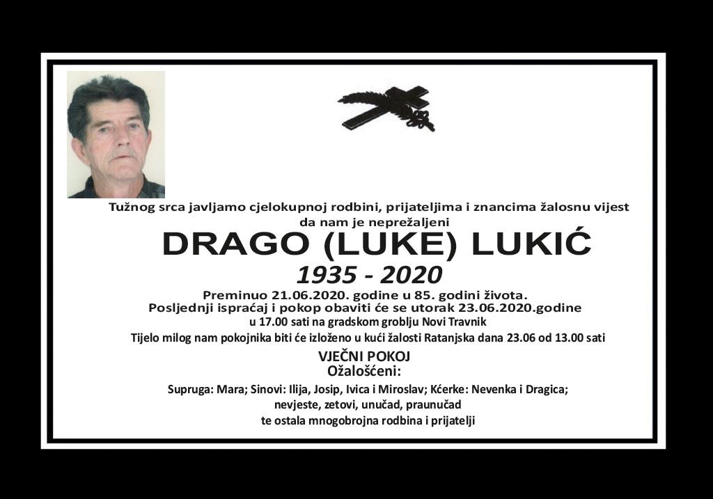 Drago (Luke) Lukić