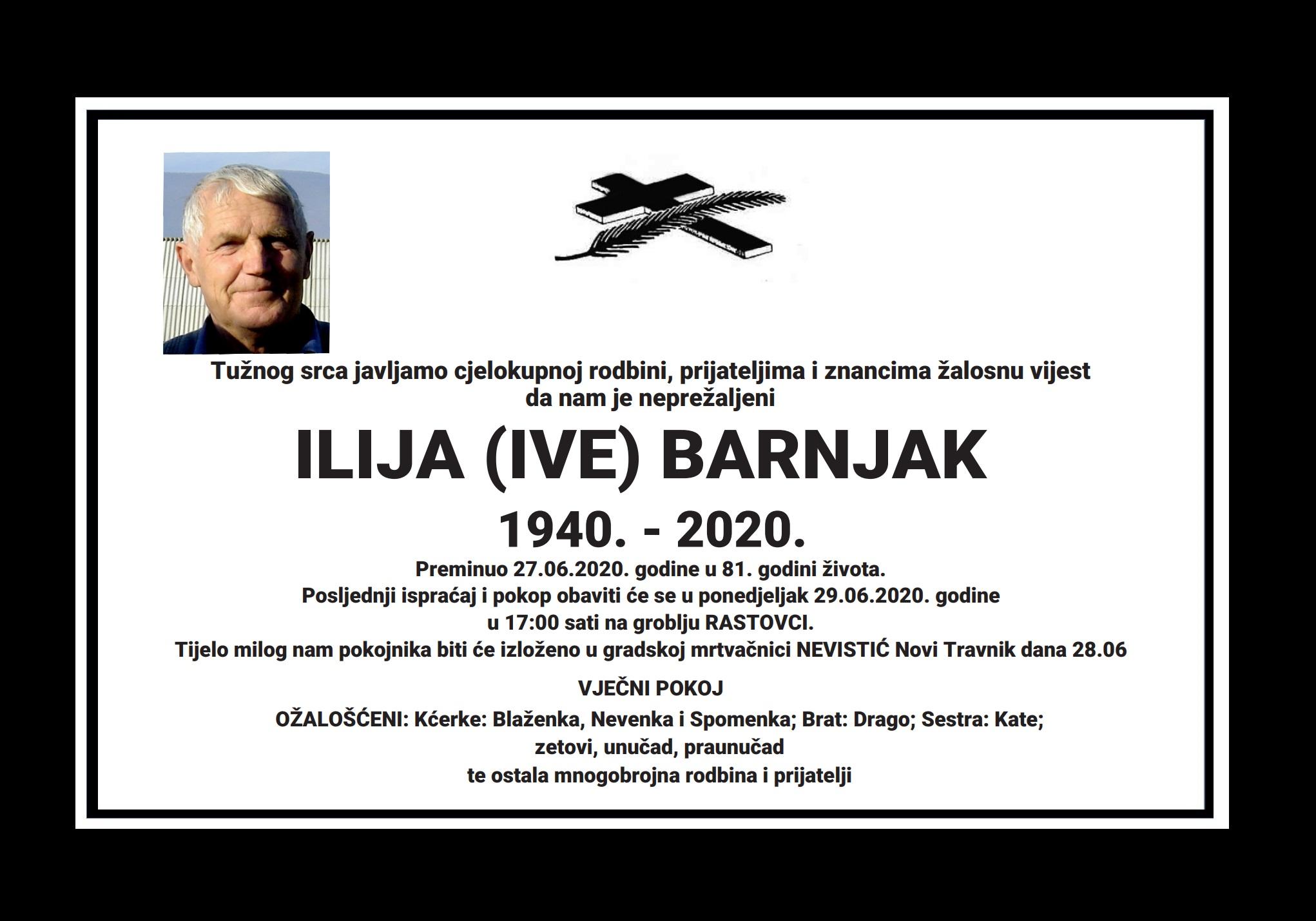 Ilija (Ive) Barnjak
