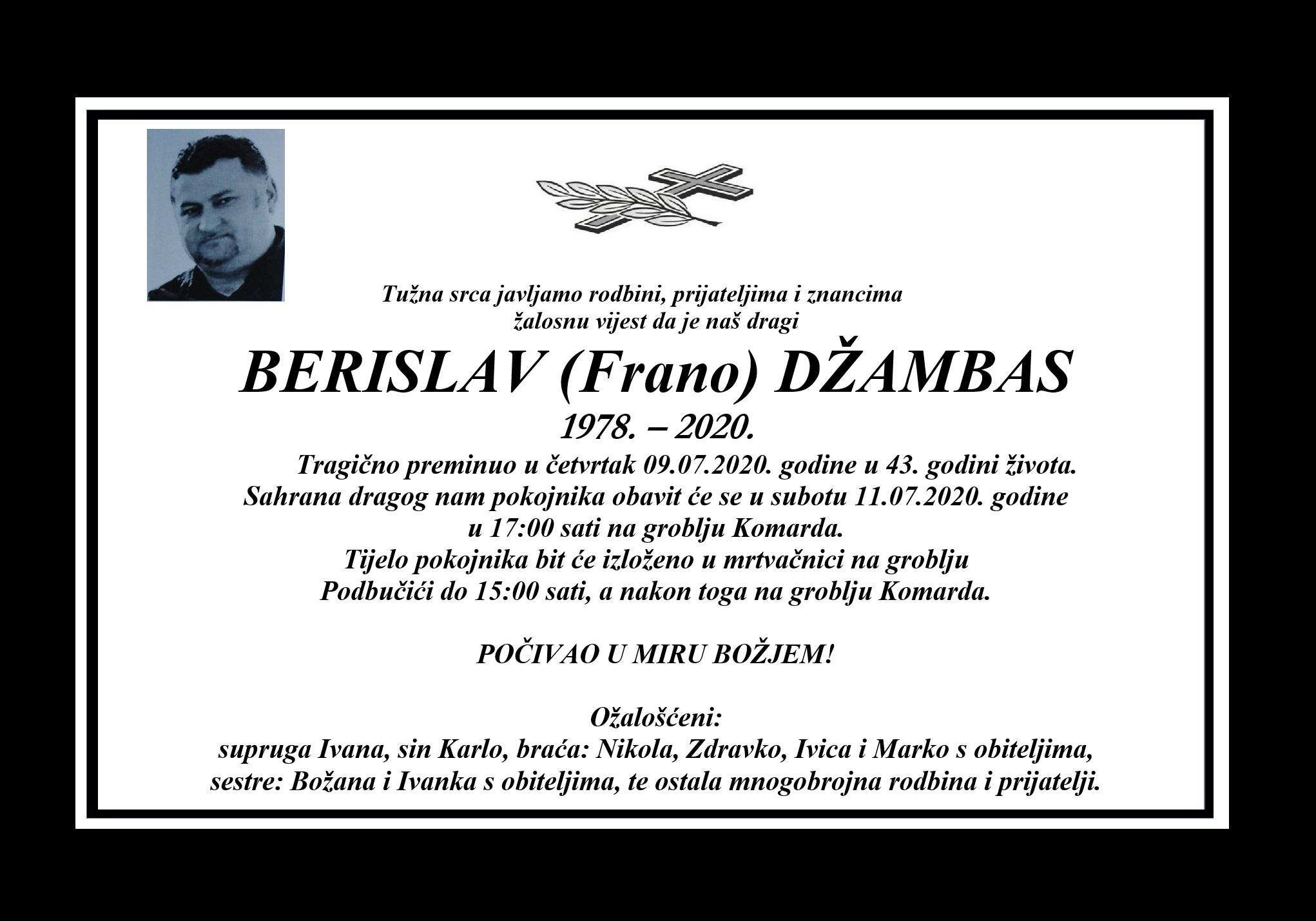 Berislav (Frano) Džambas