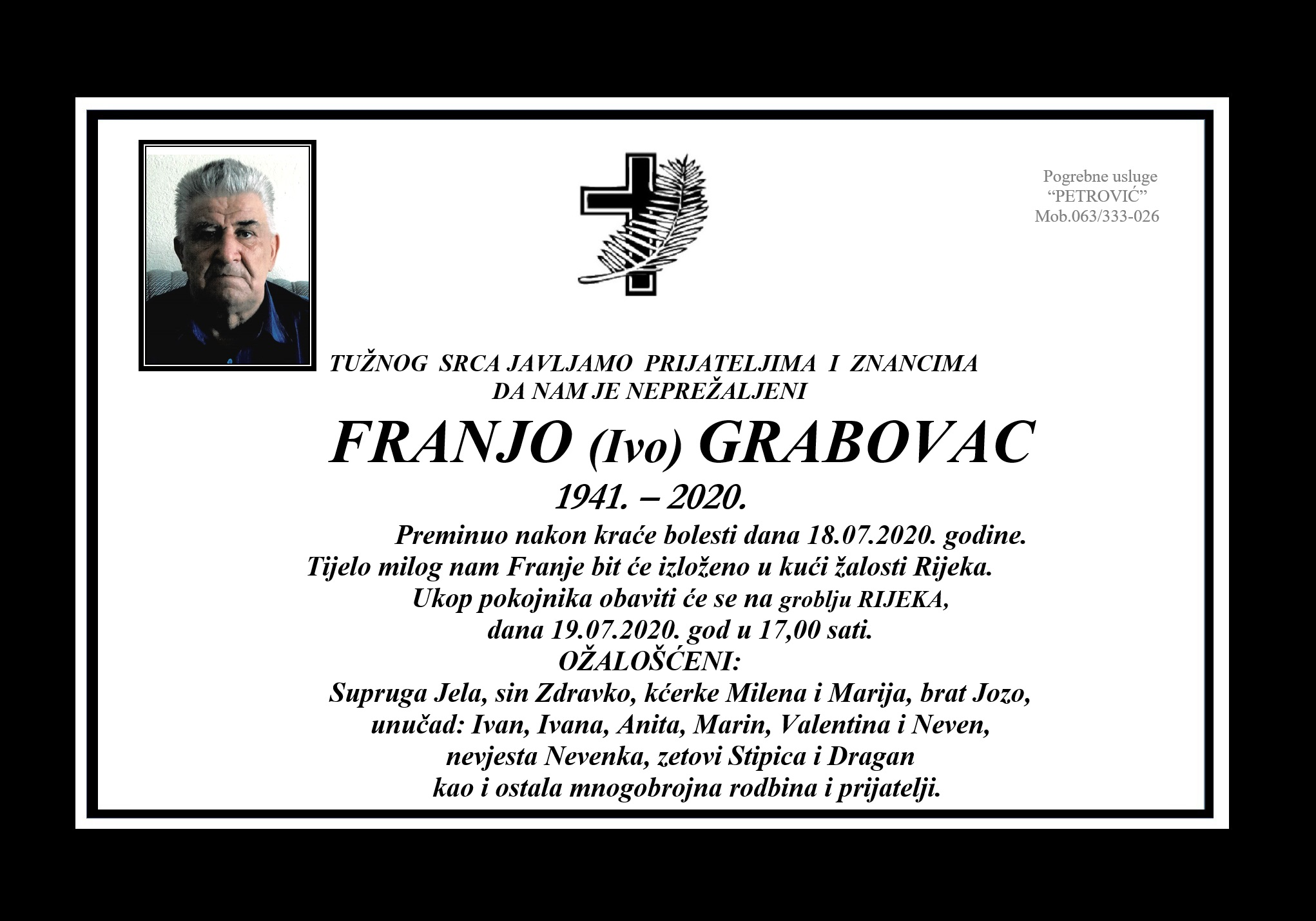 Franjo (Ivo) Grabovac