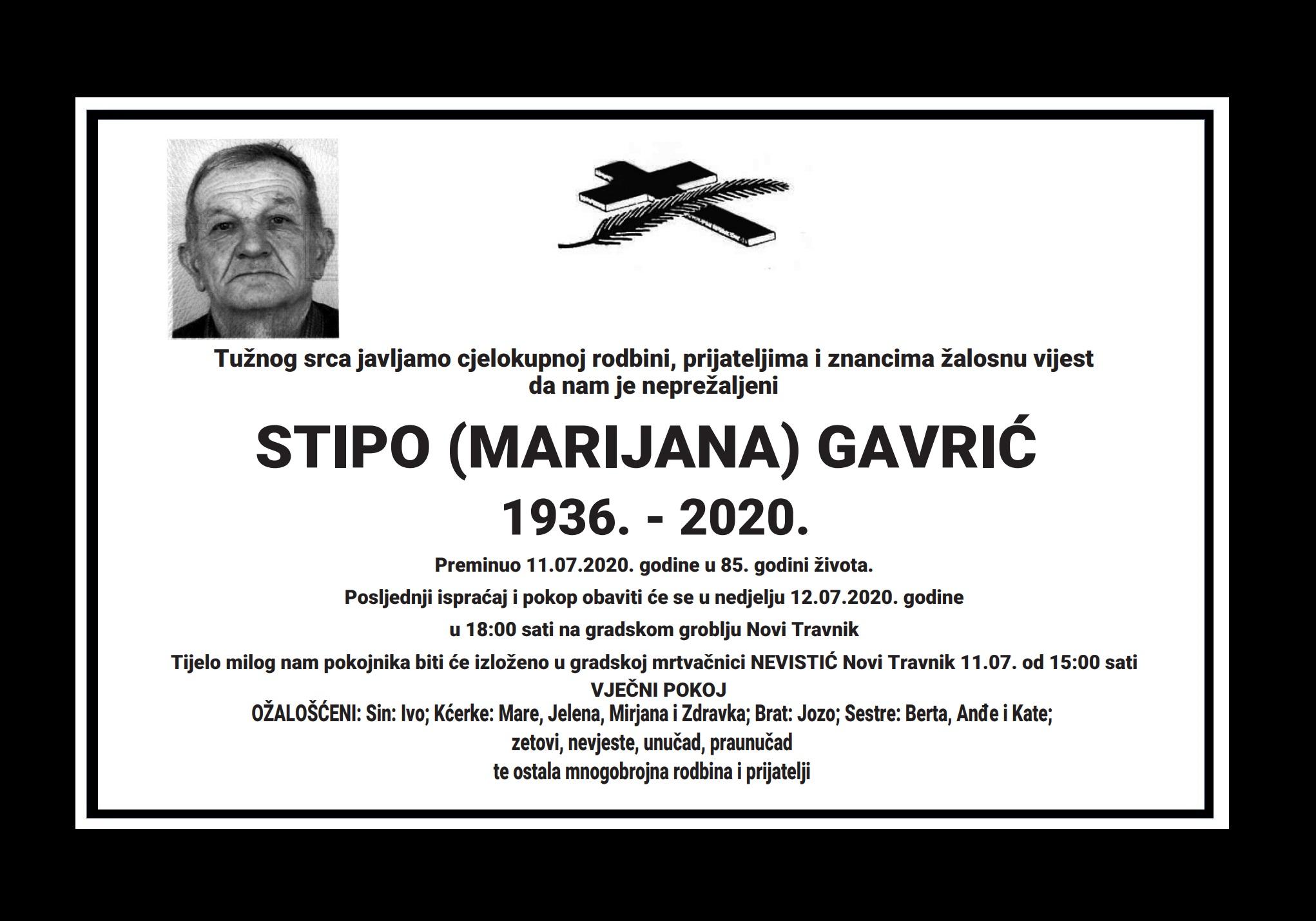 Stipo (Marijana) Gavrić