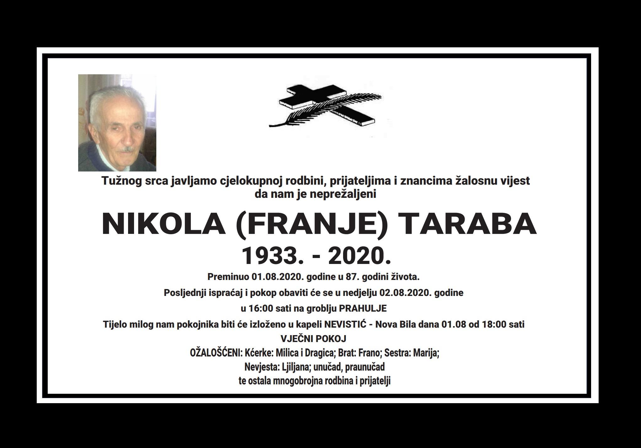 Nikola (Franje) Taraba