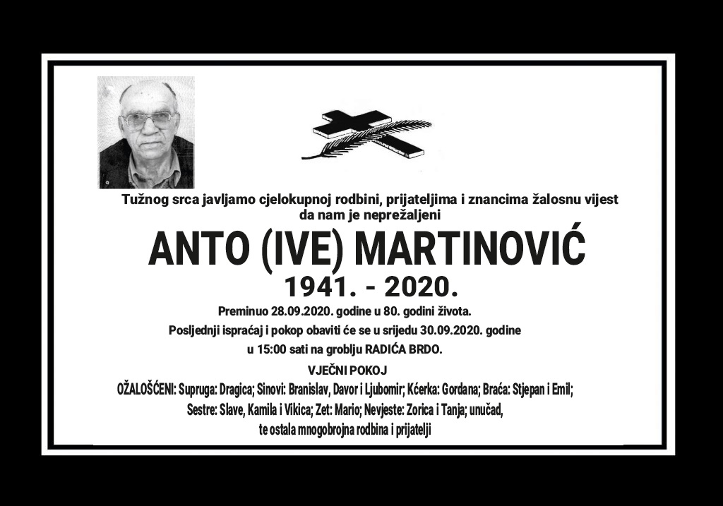 Anto (Ive) Martinović