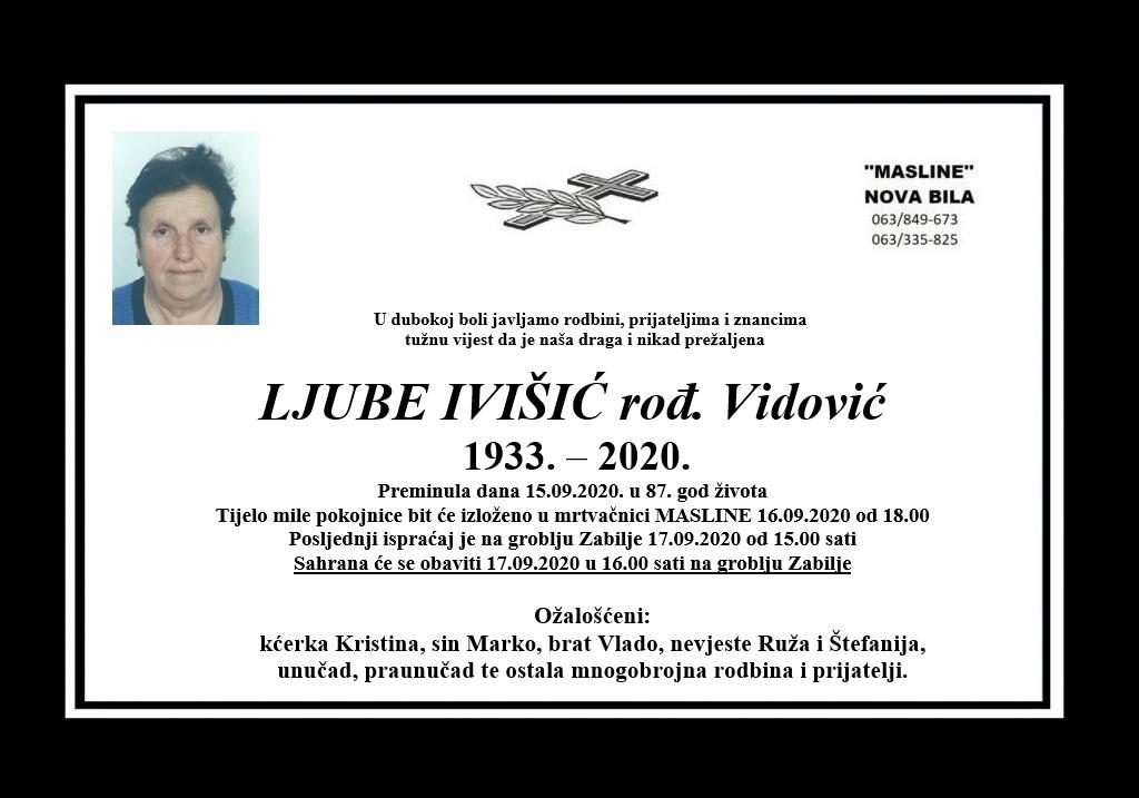 Ljube Ivišić rođ. Vidović