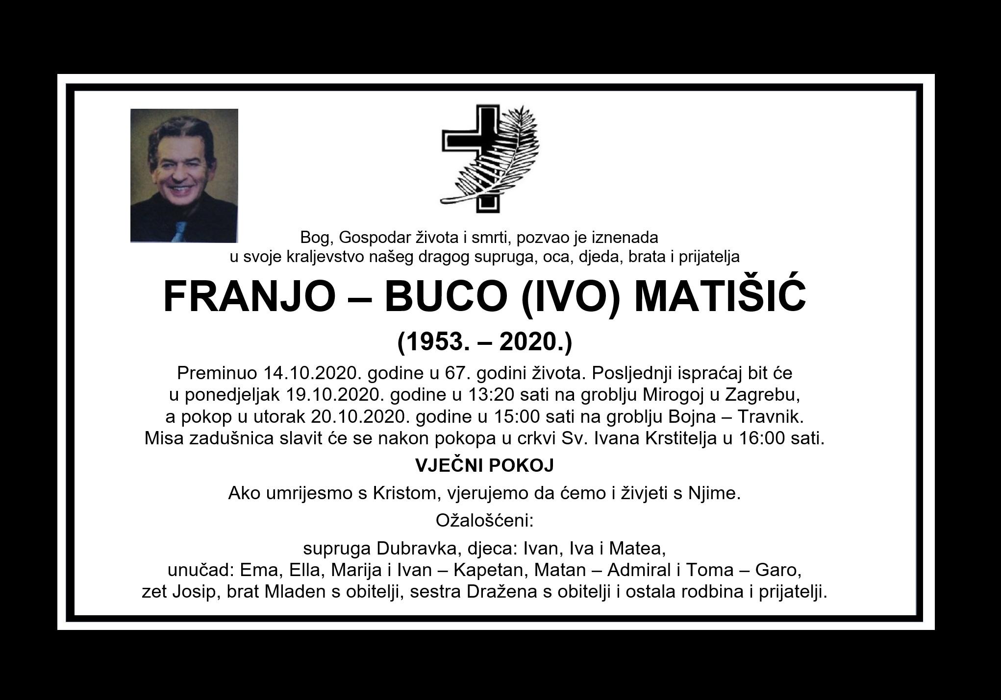 Franjo – Buco (Ivo) Matišić