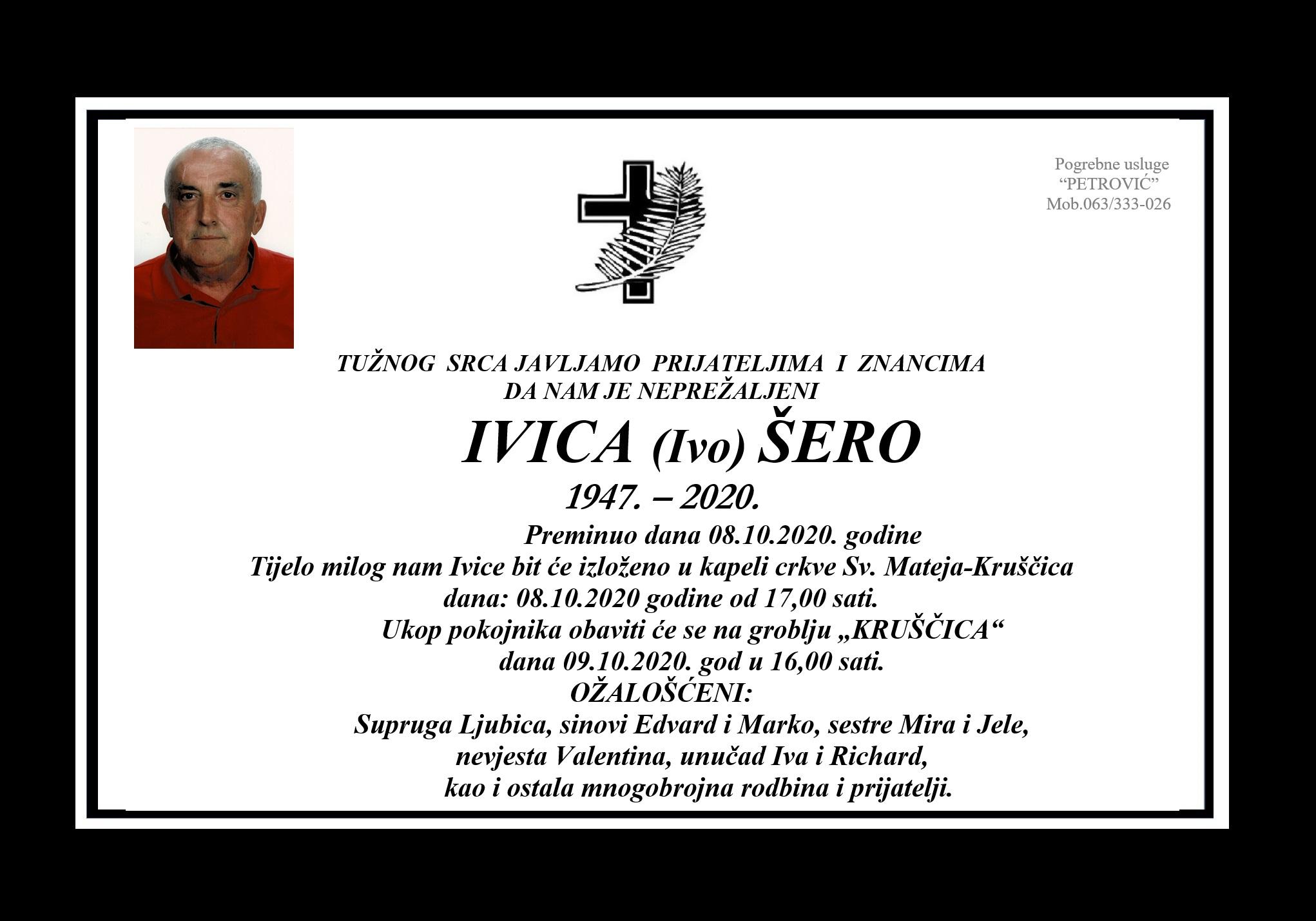 Ivica (Ivo) Šero