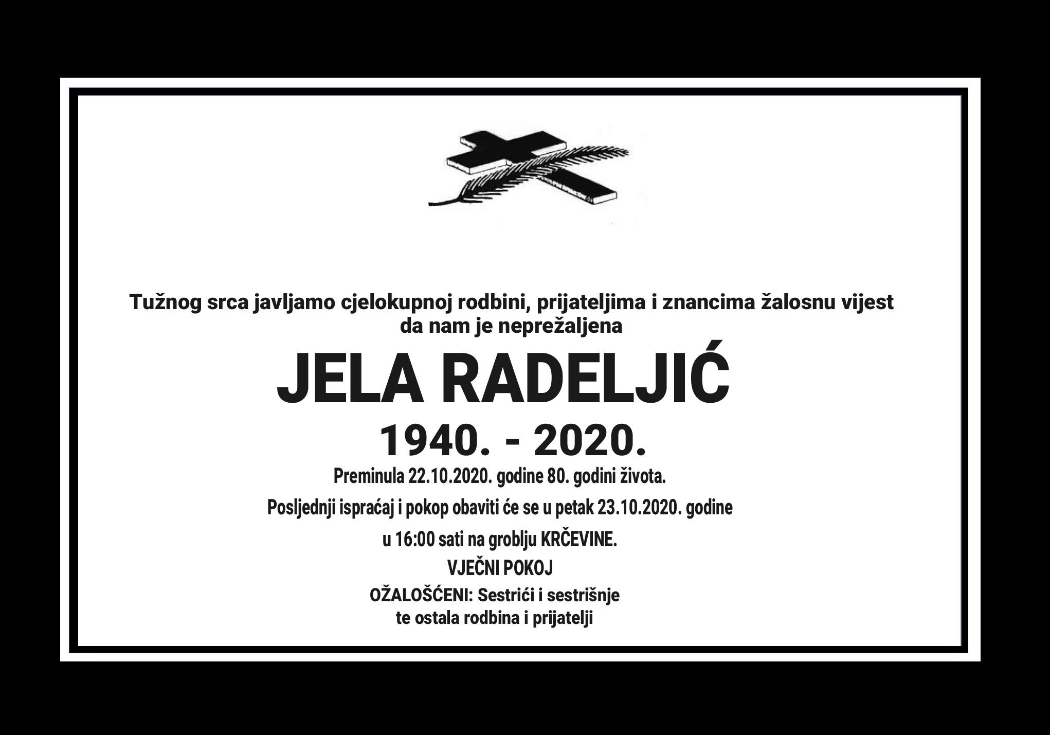 Jela Radeljić