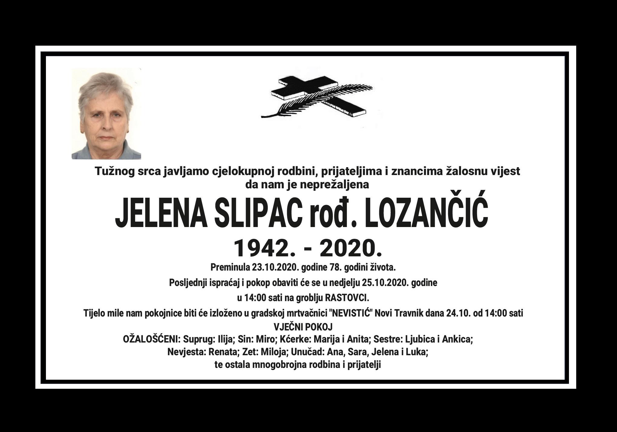 Jelena Slipac rođ. Lozančić