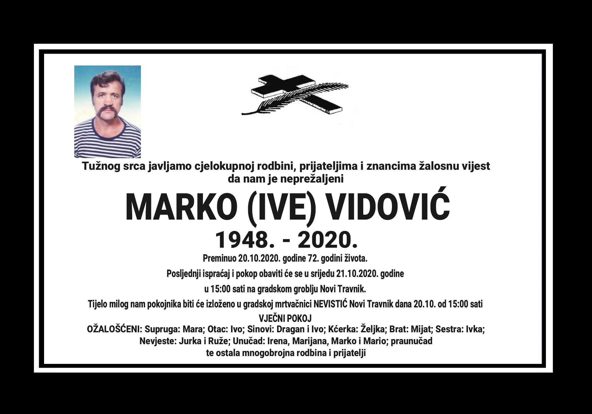 Marko (Ive) Vidović