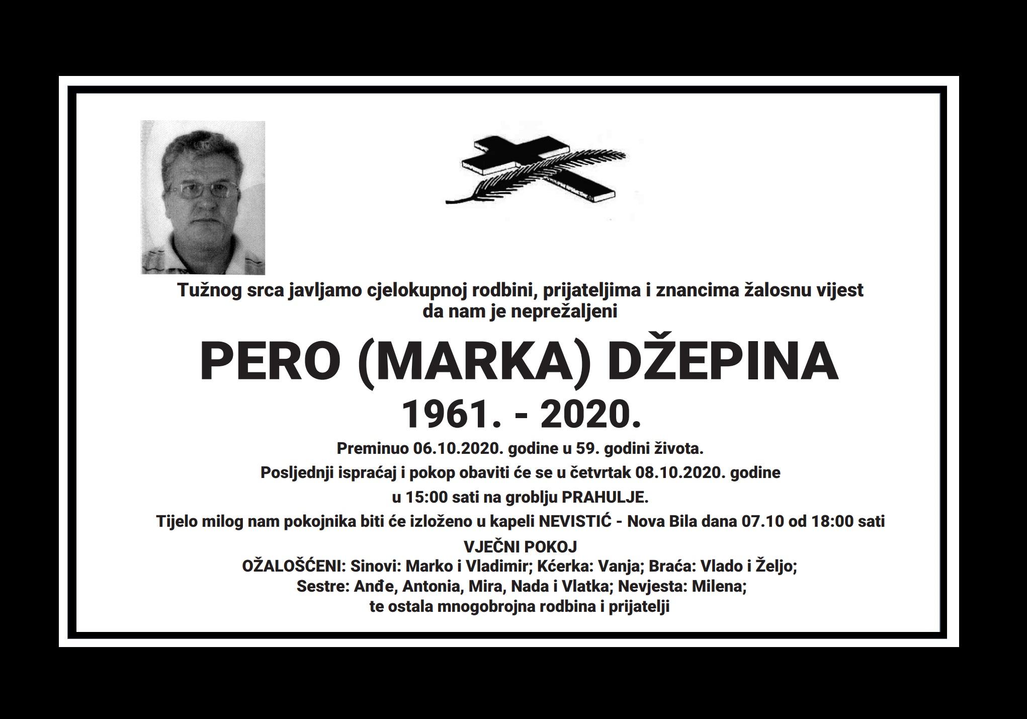 Pero (Marka) Džepina