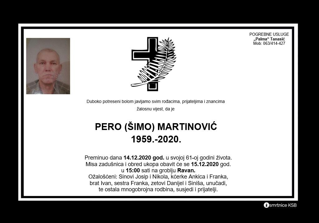 Pero (Šimo) Martinović