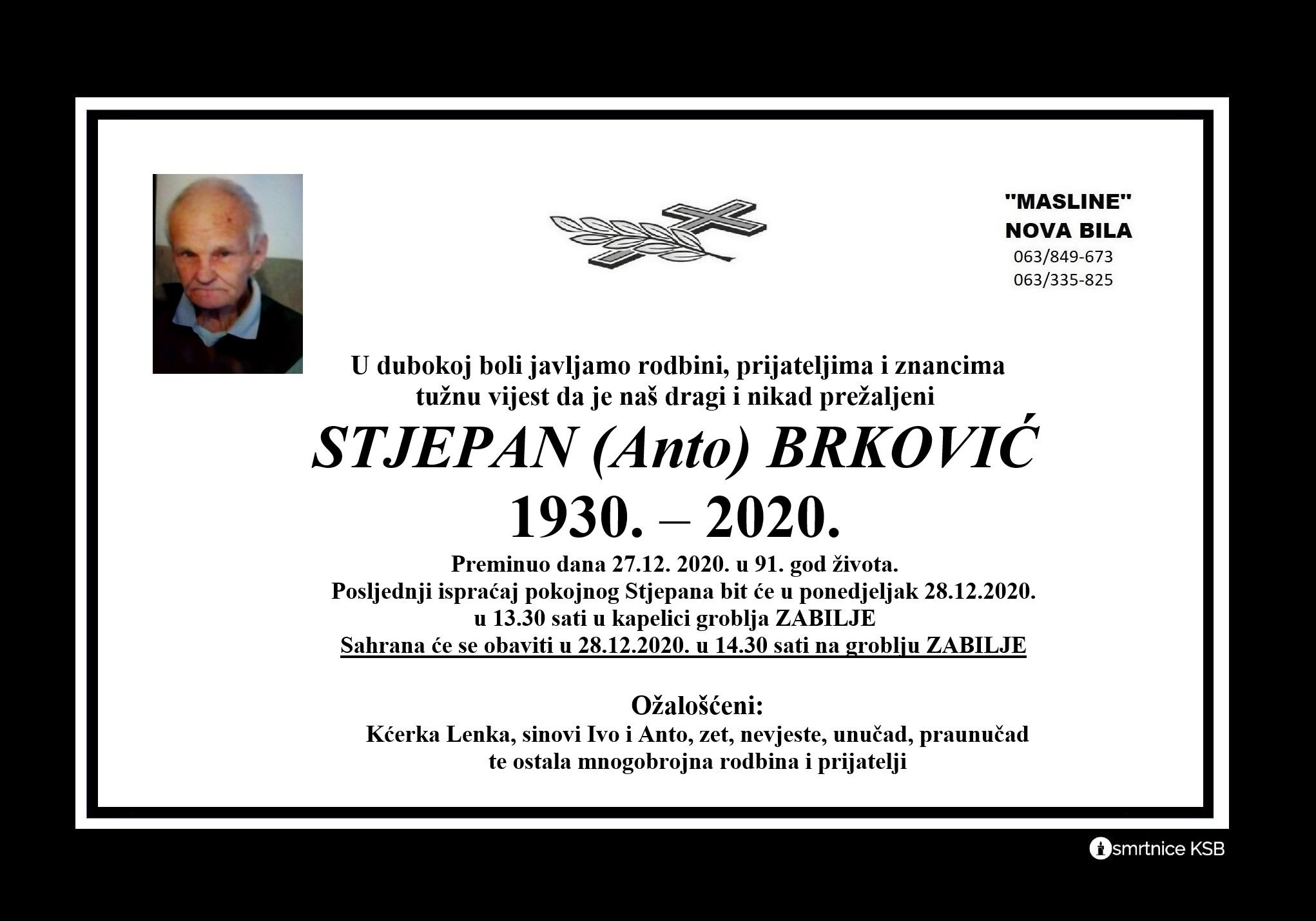 Stjepan (Anto) Brković