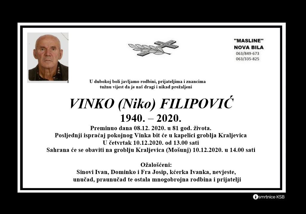 Vinko (Niko) Filipović
