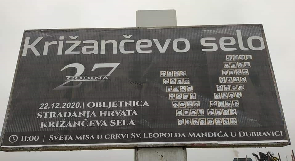 Sjećanje: Križančevo selo, 27 godina!