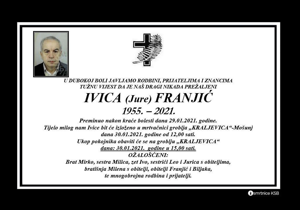 Ivica (Jure) Franjić