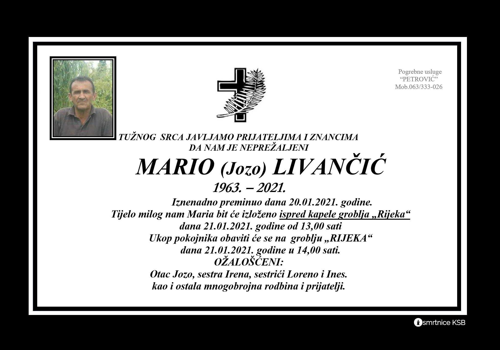 Mario (Jozo) Livančić