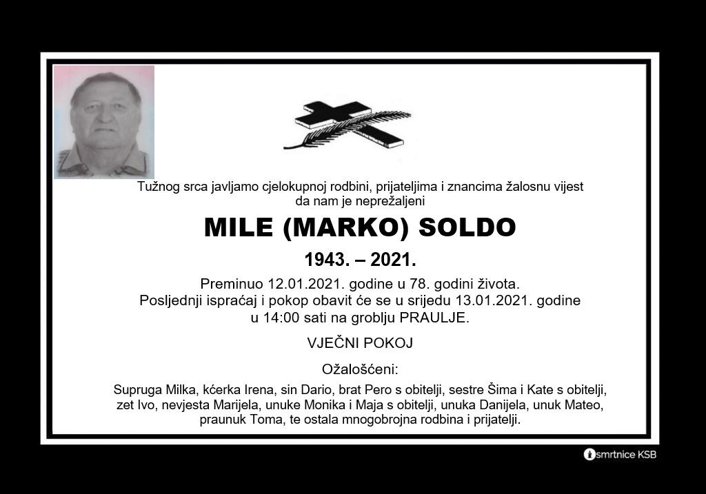 Mile (Marko) Soldo