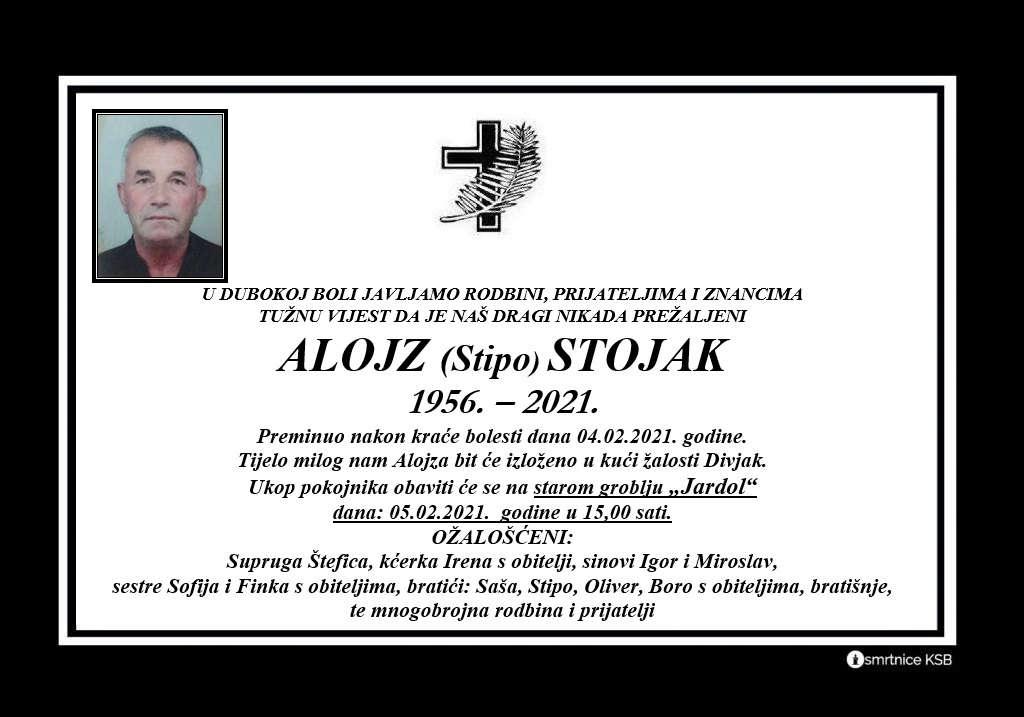Alojz (Stipo) Stojak