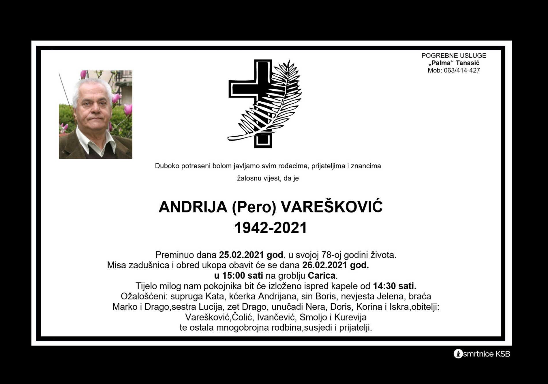 Andrija (Pero) Varešković