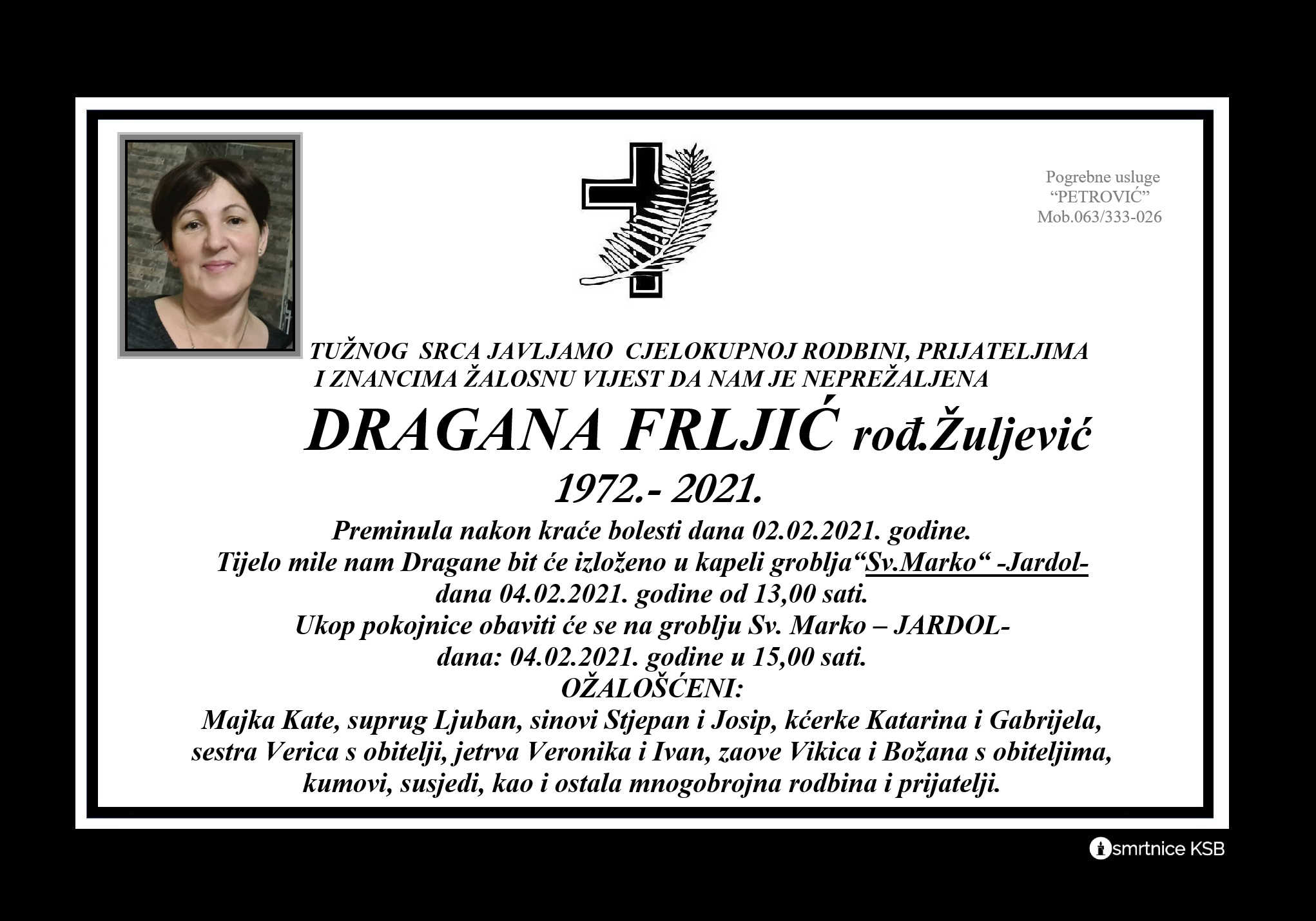Dragana Frljić rođ. Žuljević