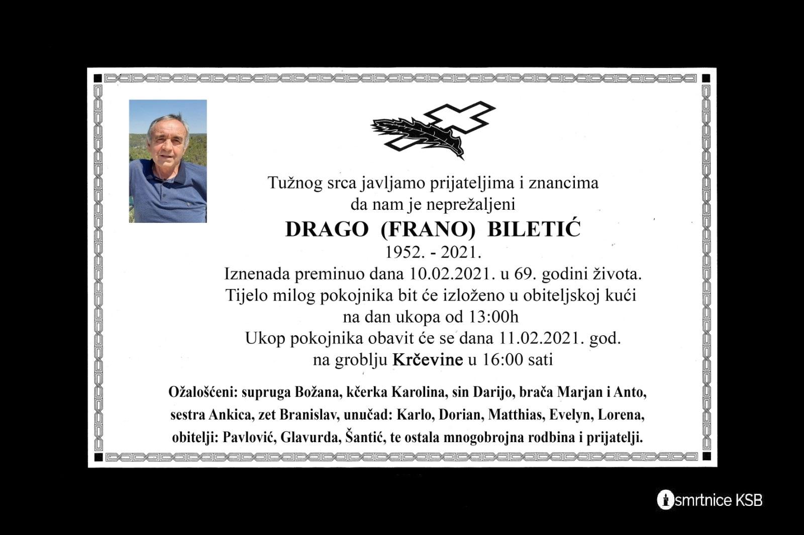 Drago (Frano) Biletić
