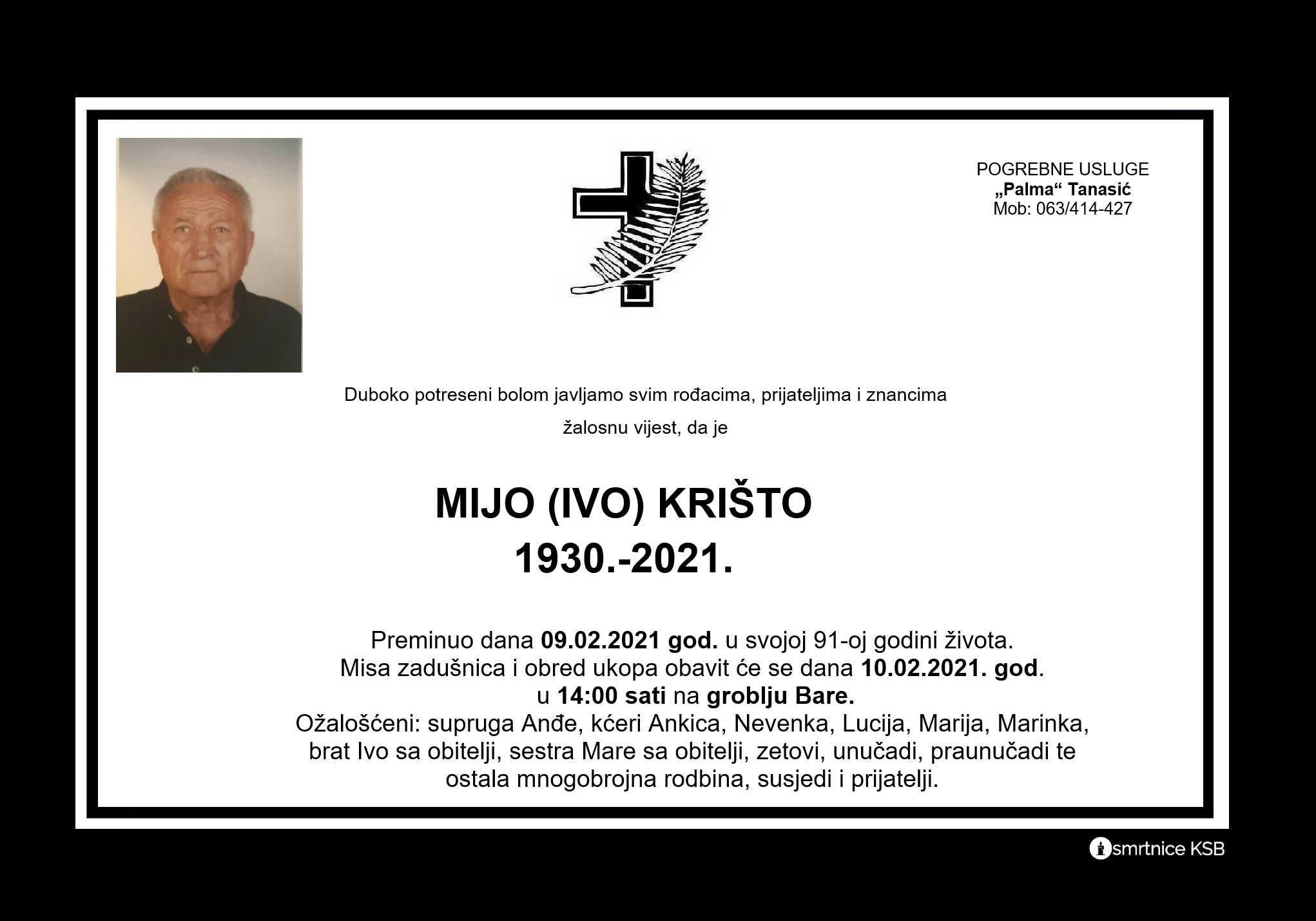 Mijo (Ivo) Krišto