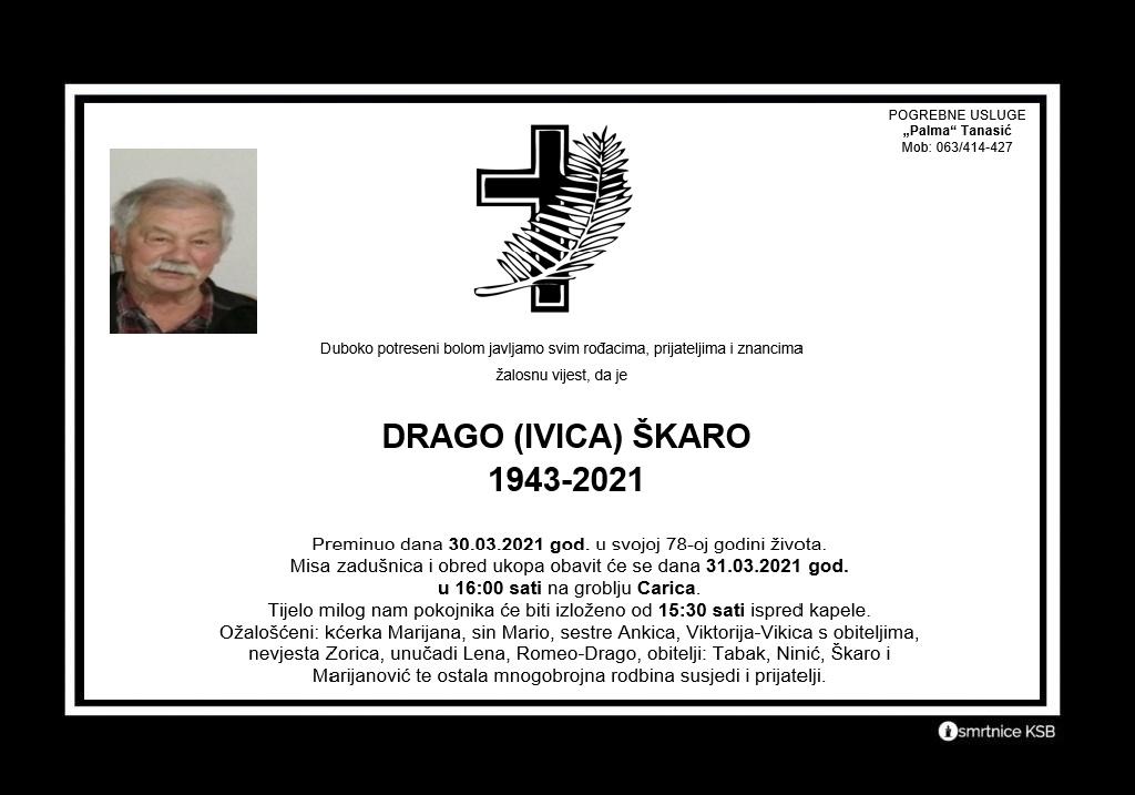 Drago (Ivica) Škaro