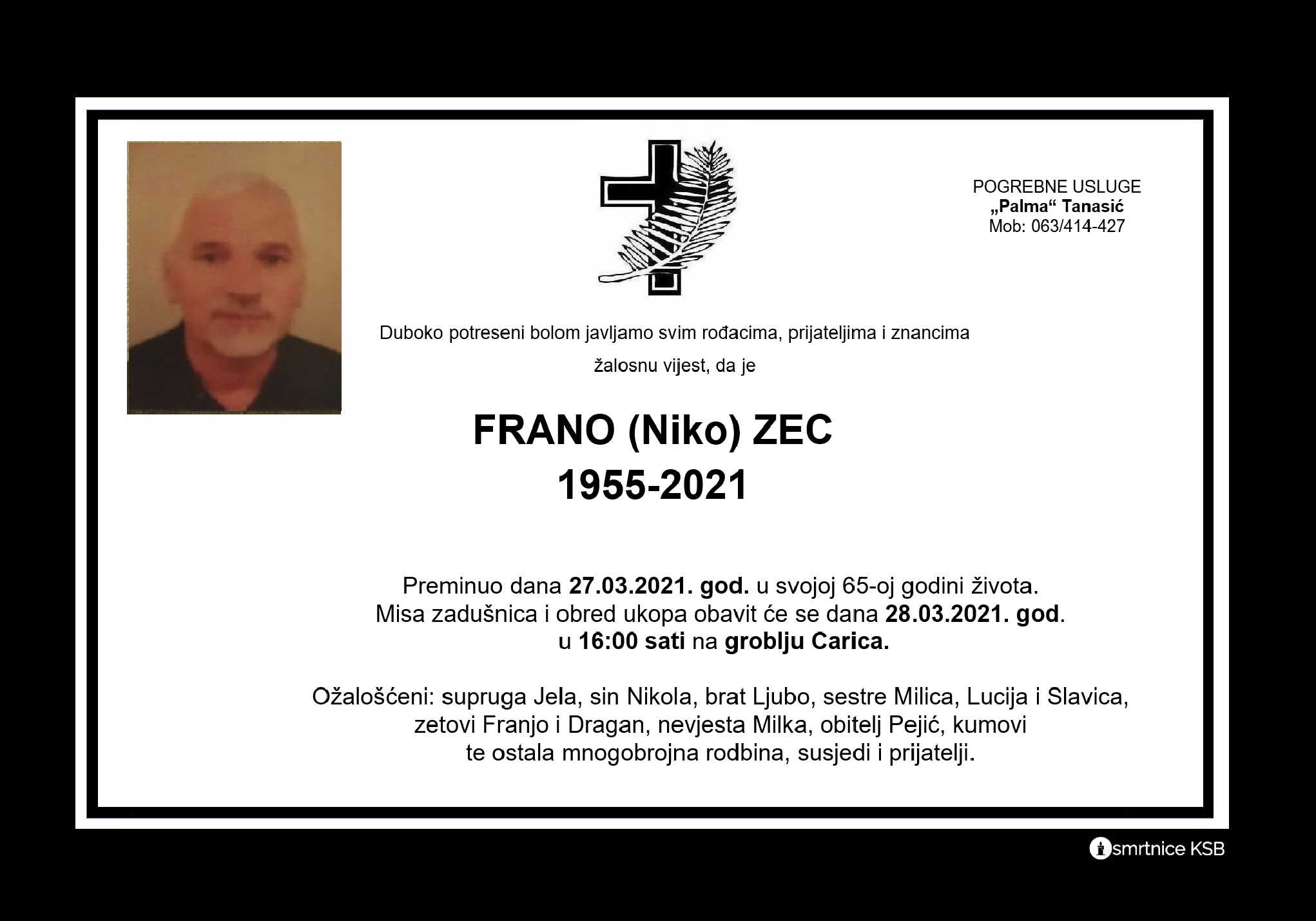 Read more about the article Frano (Niko) Zec