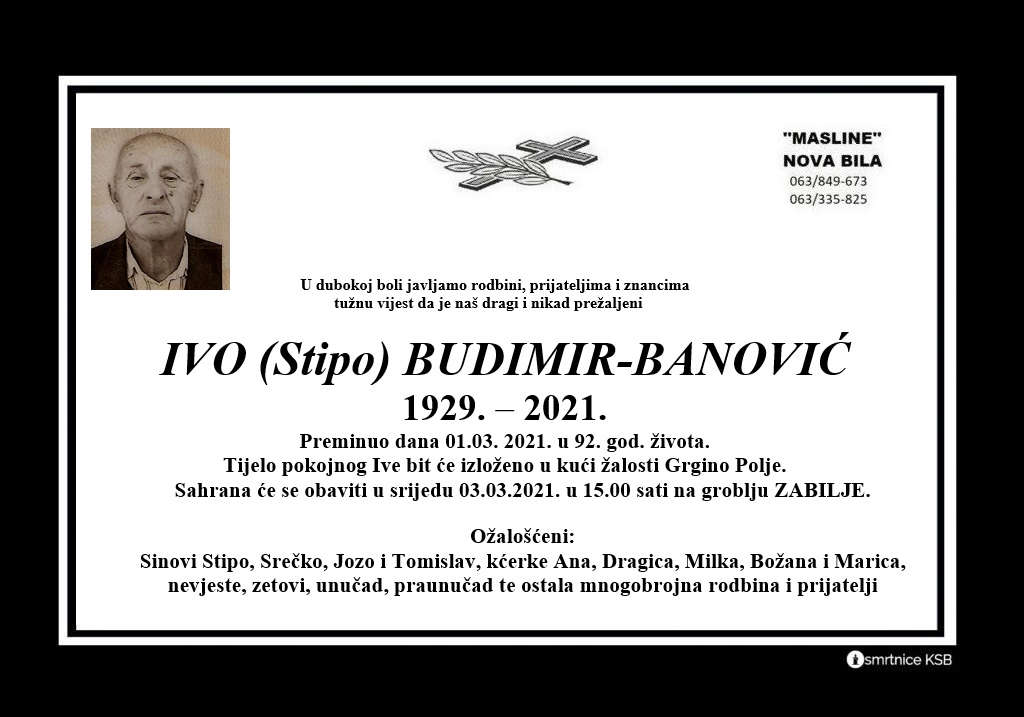 Ivo (Stipo) Budimir-Banović